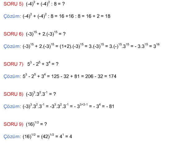 8 Sınıf Matematik Konu Anlatımları  Matematikcilercom
