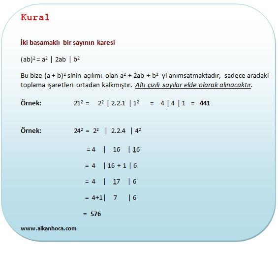 Pratik Bilgiler Matematik Pratik Bilgiler